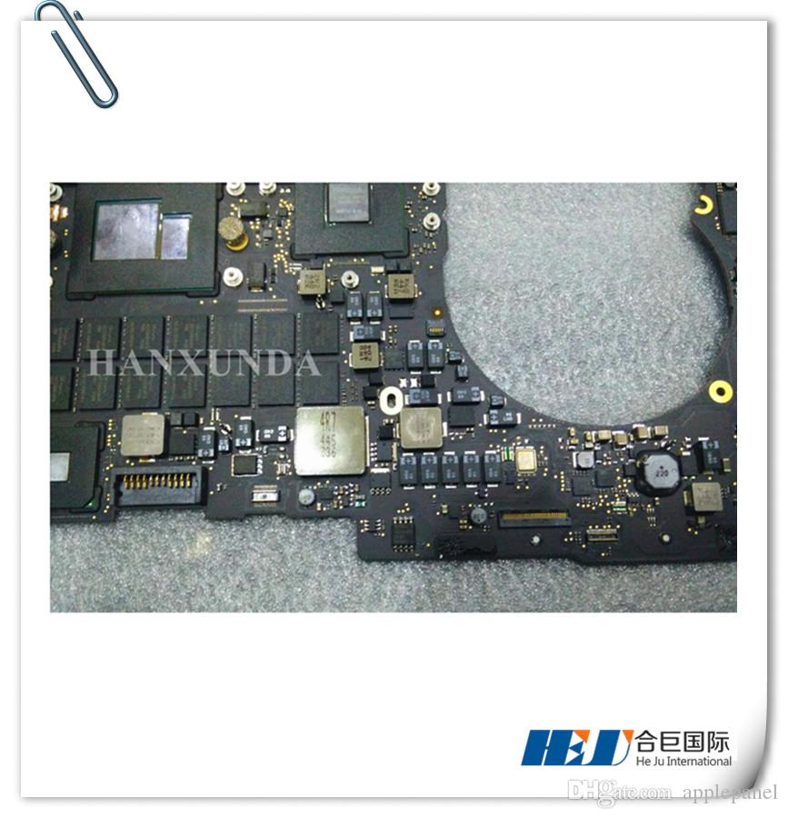 "820-3332-A Genuine A1398 motherboard Core i7 2.6GHz 8GB For Mac Book Pro Retina 15"" 2013 Motherboard"