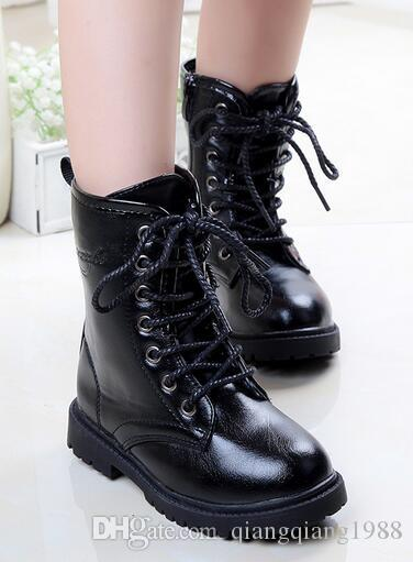 Woman Botas Candy Color Female Martin Boot Size Eu34 43 Lace Up Flat Women Snow Boots Winter Waterproof Plus Size Shoes Wsh985