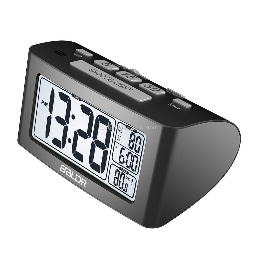 Best Two Color Baldr Elegantly Designed Snooze Alarm Clocks Digital ...