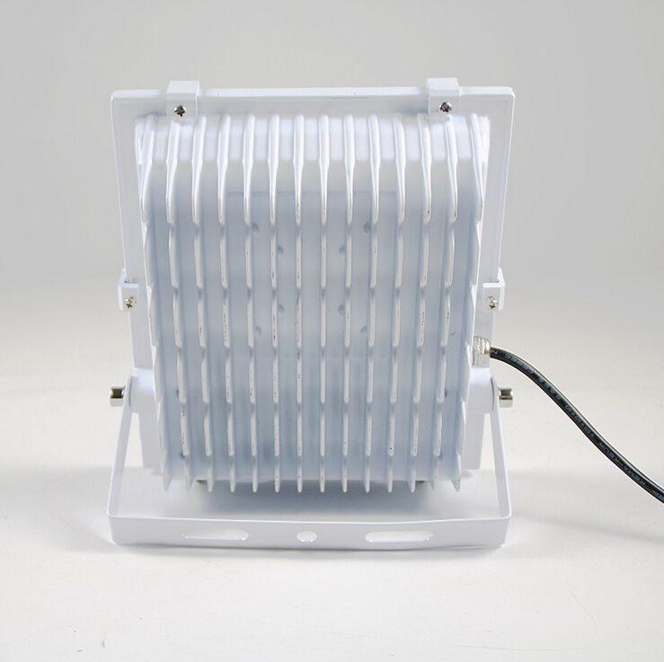 Новые Прожекторы 10 Вт 20 Вт 30 Вт 50 Вт 100 Вт 150 Вт 200 Вт Белый Корпус Светодиодный Прожектор Открытый светодиодный Прожектор Водонепроницаемый Светодиодный Туннельный Светильник Уличный Фонарь