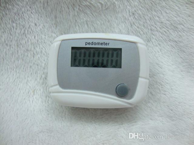Heiße verkäufe 4 farben Neue Mini LCD Schrittzähler Delicate Kalorie Walking Distance Calculation Digital Counter für gesundheit