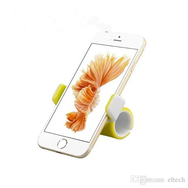 El soporte para teléfono celular de alta calidad para cinta de correr o carrito de la compra es compatible con el teléfono celular de 50 mm a 85 mm.