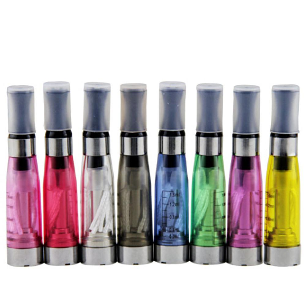 CE4 Zerstäuber eGo Clearomizer 1.6ml 2.4ohm Dampfbehälter elektronische Zigarette für E-Cig Batterie 8 Farben 4 Docht CE4 + CE5 DHL Versand