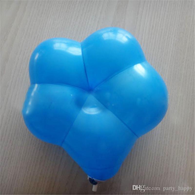 Lattice Balloon Balloon Plum Palloncini Plum Flower Flower Shaped Latex Balloons Custom Matrimonio Della Stanza Scena Layout Palloncini da sposa Palloncini da festa Forniture feste