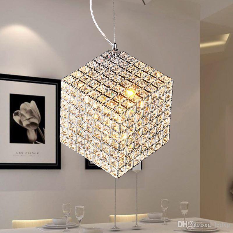 Großhandel Moderne K9 Quadratische Led Kristall Kronleuchter ...