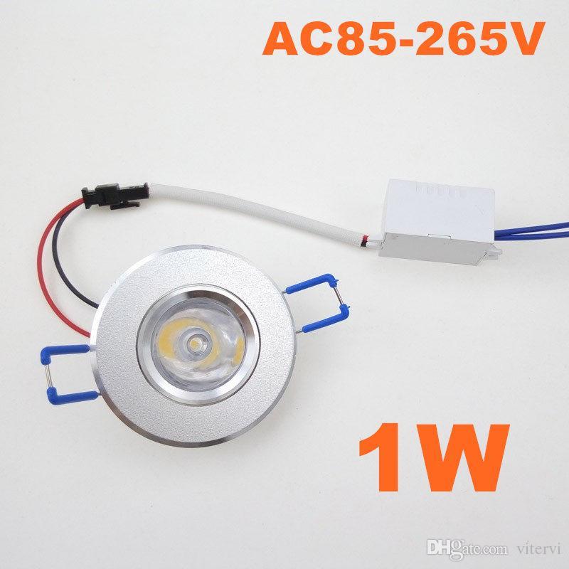 Mini Led Downlight 1w 1led Ac85 265v Ceiling Light Indoor Cellarette ...