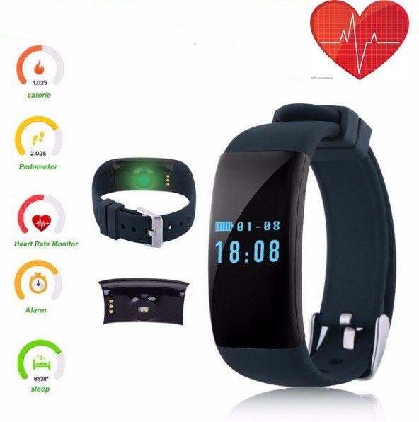2368f4a91114 Gear Fit Comprar Smart Band D21 Monitor De Frecuencia Cardíaca Smartband  Ip68 Pulsera Impermeable Health Fitness Tracker Para Android Y Ios Fit  Pulsera Por ...