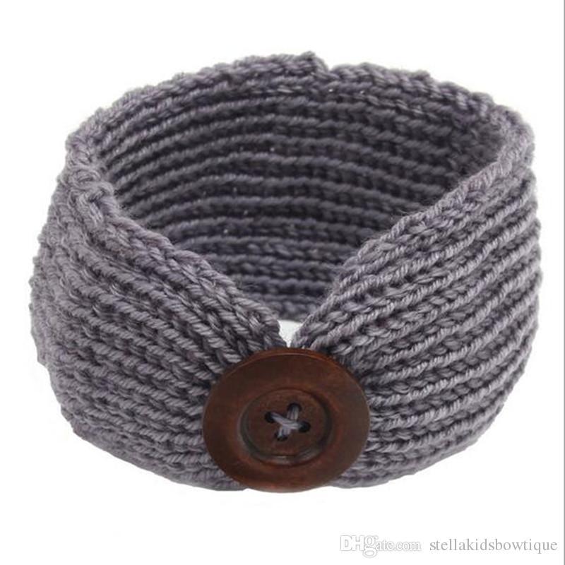 New Pattern Knit Winter Baby Headband Cute Crochet Boy Or Girls