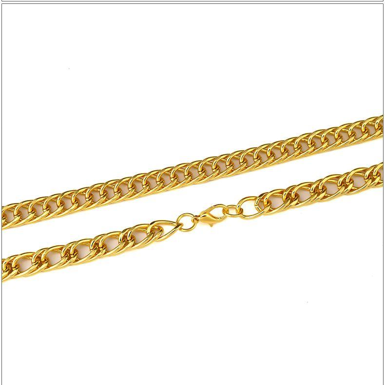 Высокое качество 18 К Позолоченные мужские Хип-хоп череп Лицо Кристалл Rhinestone ожерелье Рэппер Золотой Скелет Мужская Змея Ожерелье Мужчины Ювелирные Изделия