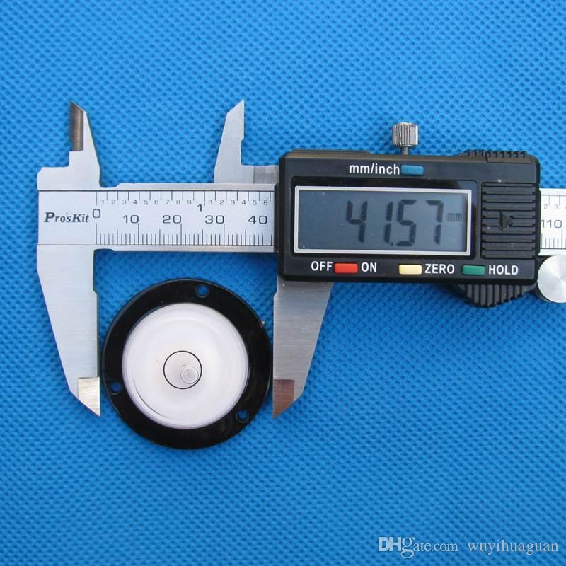 Haccury 43 * 11 mm 장착 구멍이있는 거품 수준 정신 수준