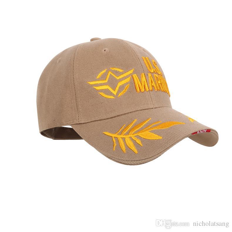 9 스타일 2016 전술 해병 모자 모자 야구 모자 미국 육군 검은 물 모자 Snapable 모자 조정 가능한 해군 물개 Casquette에 대 한
