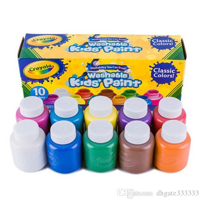 2018 Crayola Kids Paint Washable Classic Colors Contents 10 ...