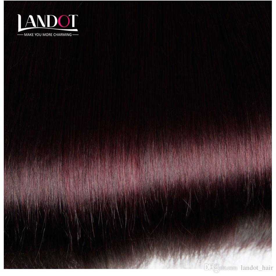 Burgundy Wine Red Color 99J Brazilian Virgin Hair Weave Bundles Peruvian Malaysian Indian Silky Straight Virgin Remy Human Hair Extensions