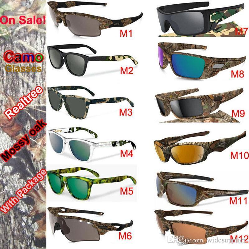 New Camo Brand Designer Sunglasses Mossyoak Realtree Sunglasses ...