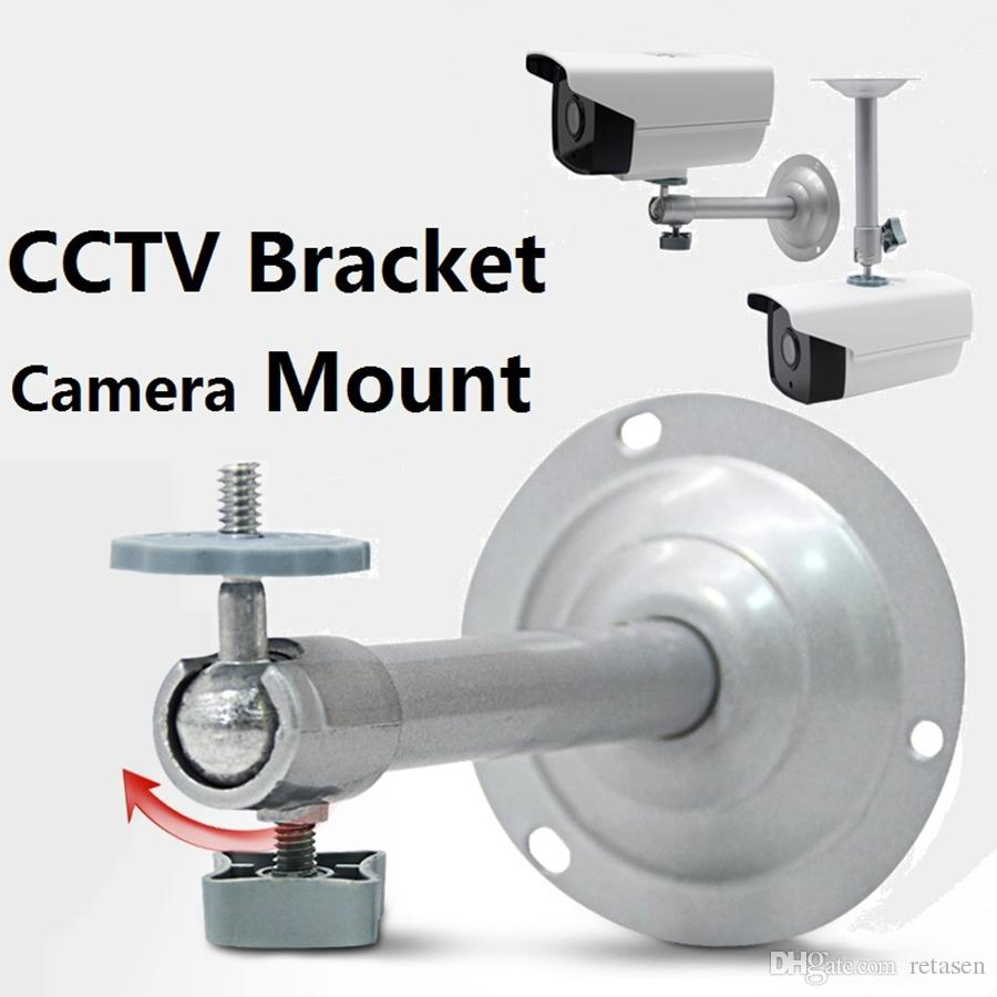 Monitoring Camera Bracket Cctv Bracket Metal Security CCTV Camera Accessories Stand Wall Ceiling Mount Bracket By DHL
