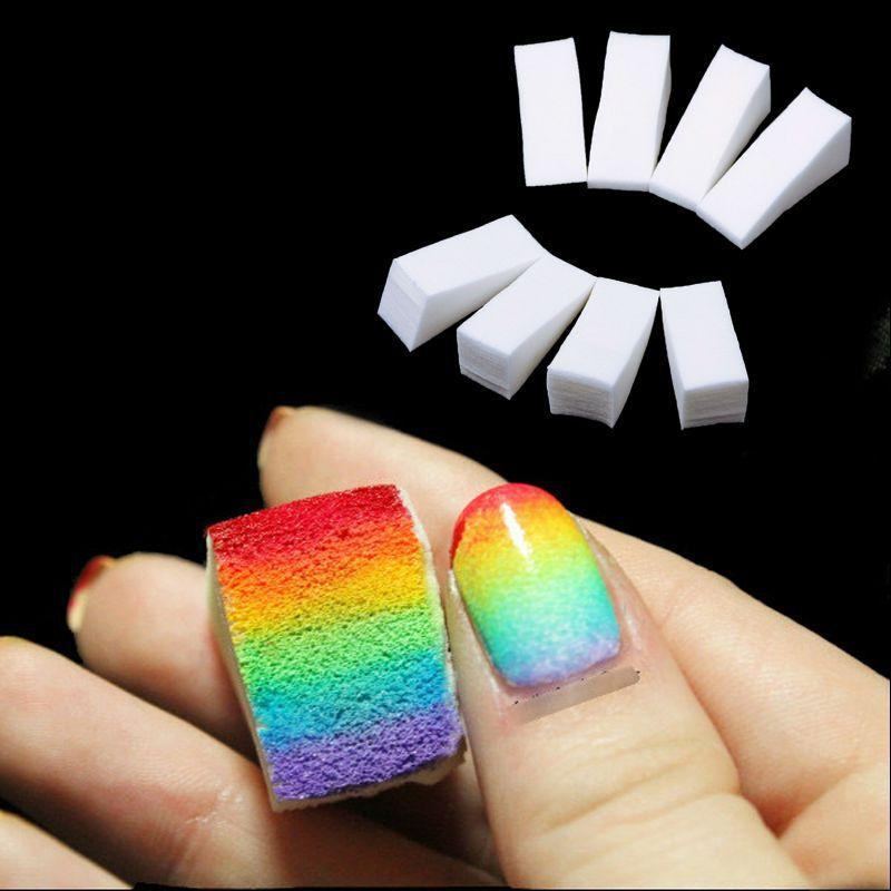 Wholesale Clavuz New Woman Salon Nail Sponges Makeup Manicure Nail ...