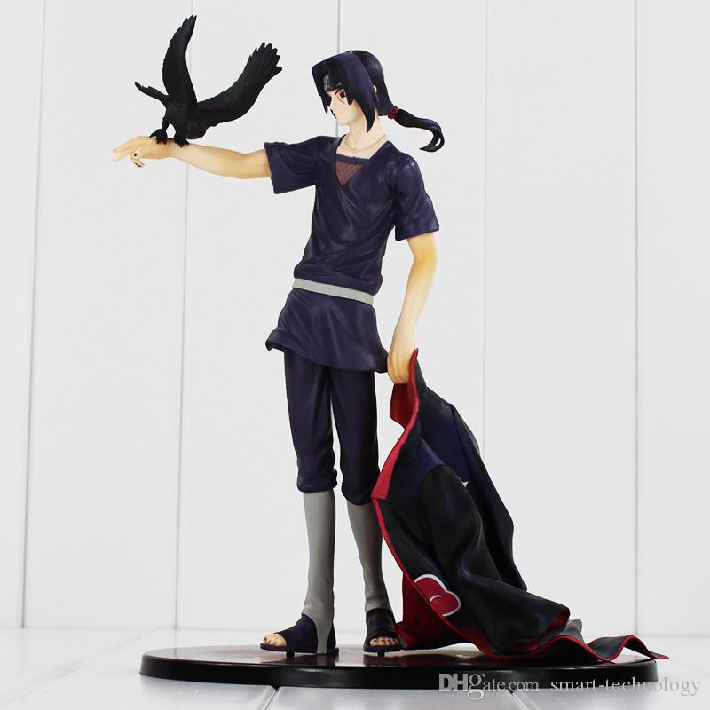 Naruto Shippuden Uchiha Itachi PVC Action Figure Collectible Model Toy dolls 23cm High Quality