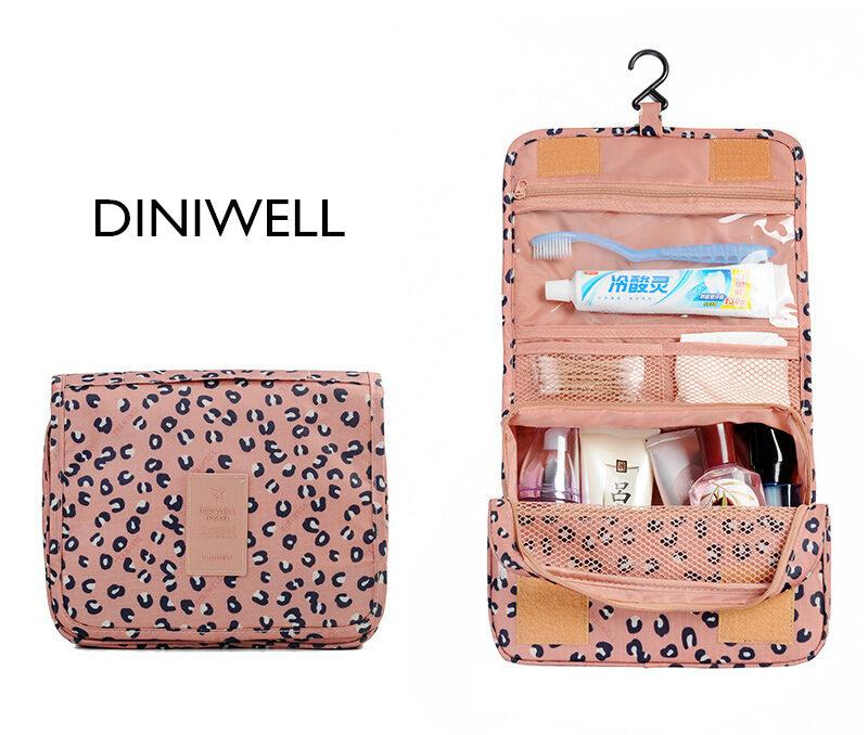 2019 Diniwell New Fashion Women S Travel Toiletry Bags Hanging Cosmetic Bag  Multifunctional Travel Wash Bag Organizer From Jdm12999,  23.56   DHgate.Com af94e20aea