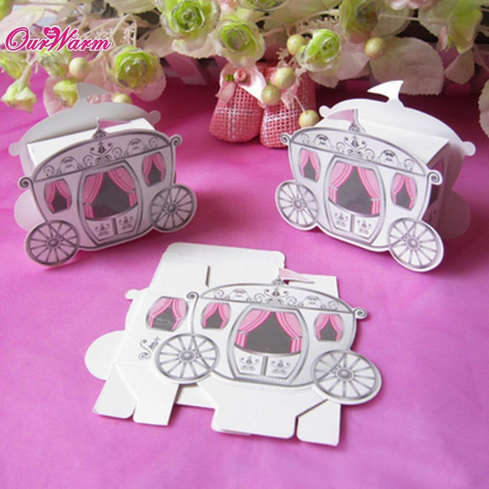 Wholesale Wedding Candy Box Favors Gift Box Cinderella Enchanted ...