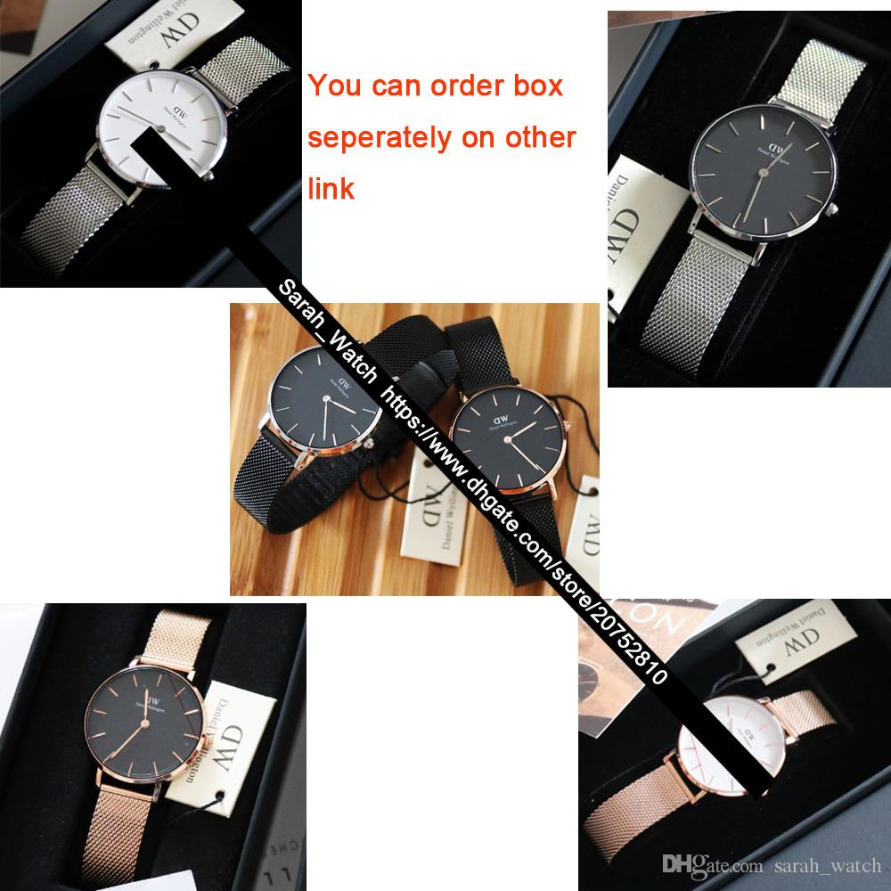 2b7d3f89f08b Best Quality 28mm   32mm Women Watch   White Face   Black Face   Rose Gold    Silver   Leather + Nylon + Metal Strap Ladies Watches Online Shopping For  Wrist ...