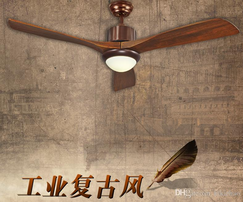 2018 american rustic living room ceiling fan lights 56inch led 2018 american rustic living room ceiling fan lights 56inch led industrial fan light solid wood door leaf dining room ceiling fans from kikizhao mozeypictures Image collections