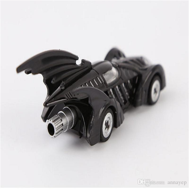"Hot Sale Mini DC Tomica Limited TC Batman Metal Batmobile Collectible Model Toys 7cm/2.8"" Car For Kids Christmas Gift in Box M139"