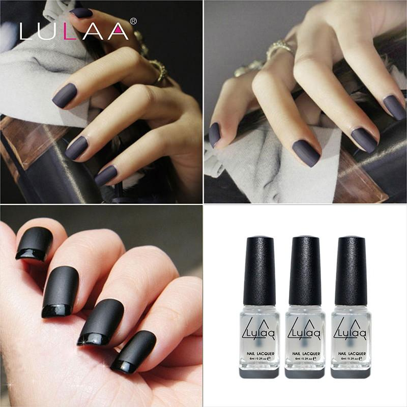 Wholesale Lulaa 6 Ml Matte Top Nail Art Nail Art Top Tips Top Coat