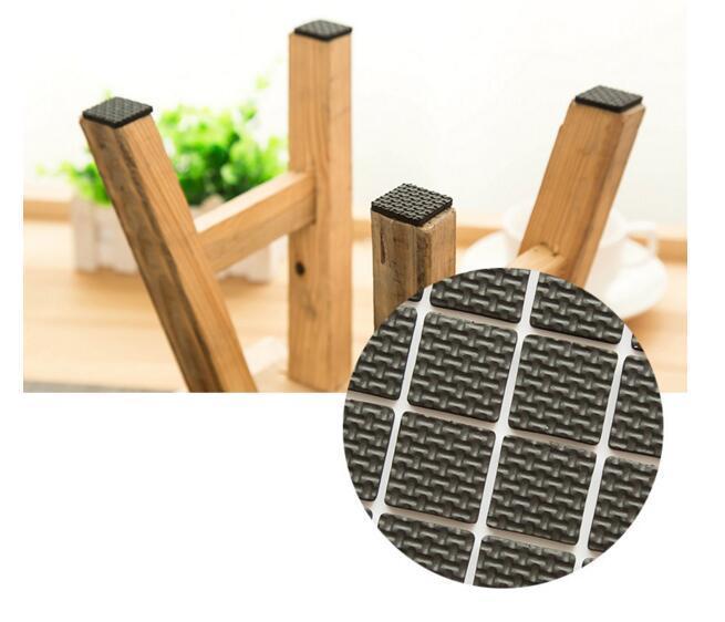 패션 새로운 DHL 의자 다리 패드 커버 다기능 접착 가구 소파 테이블 피트 매트 바닥 미끄럼 방지 보호기 뜨거운