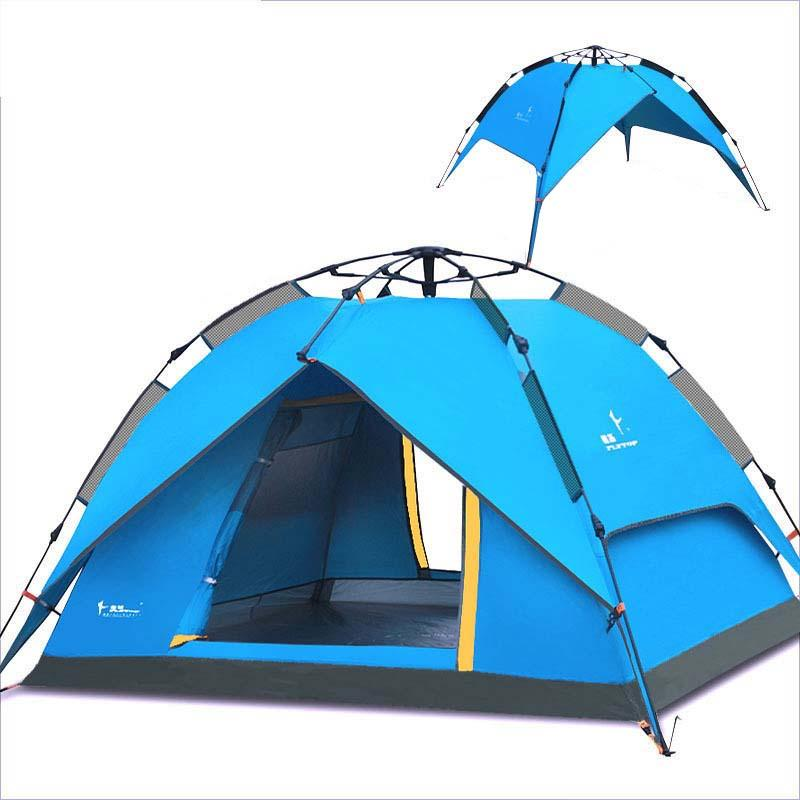 Wholesale Flytop Quick Automatic Opening 3 4 Person C&ing Tent Outdoor Hiking Waterproof Tents Automatically Open Large Family Tents 8 Man Tents Tents For ...  sc 1 st  DHgate.com & Wholesale Flytop Quick Automatic Opening 3 4 Person Camping Tent ...