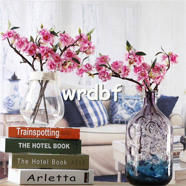"Mini Cherries 40cm/15.75"" Length Artificial Flowers Cherry Blossom Sakura 3 Stems for Wedding Centerpieces Available"
