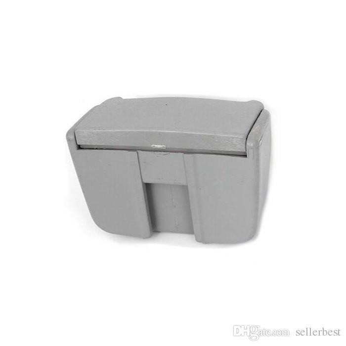 Car Rubbish Trash Portable Bin Multifunction Ashtray Garbage Can with Blue Color LED Light Car Can Interior Accessories