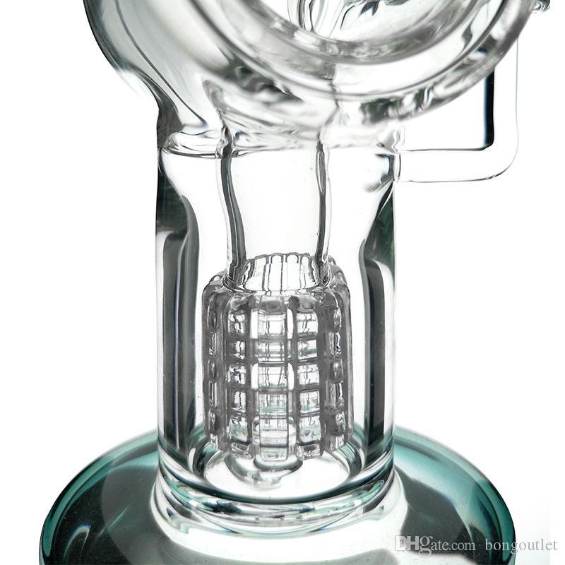 Neueste Design-Hukahn-Bongs Bent-NECT-DAB-Rig-Wasserpfeife für das Rauchen kommt mit 14mm männlicher Schüssel