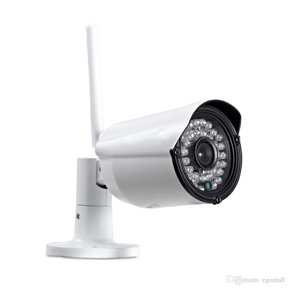 Cctv كاميرا ip لاسلكية wifi 4ch في الهواء الطلق hd 720 وعاء nvr نظام 4 قطع 1mp ir outdoor p2p ip كاميرا الأمن نظام مراقبة كيت