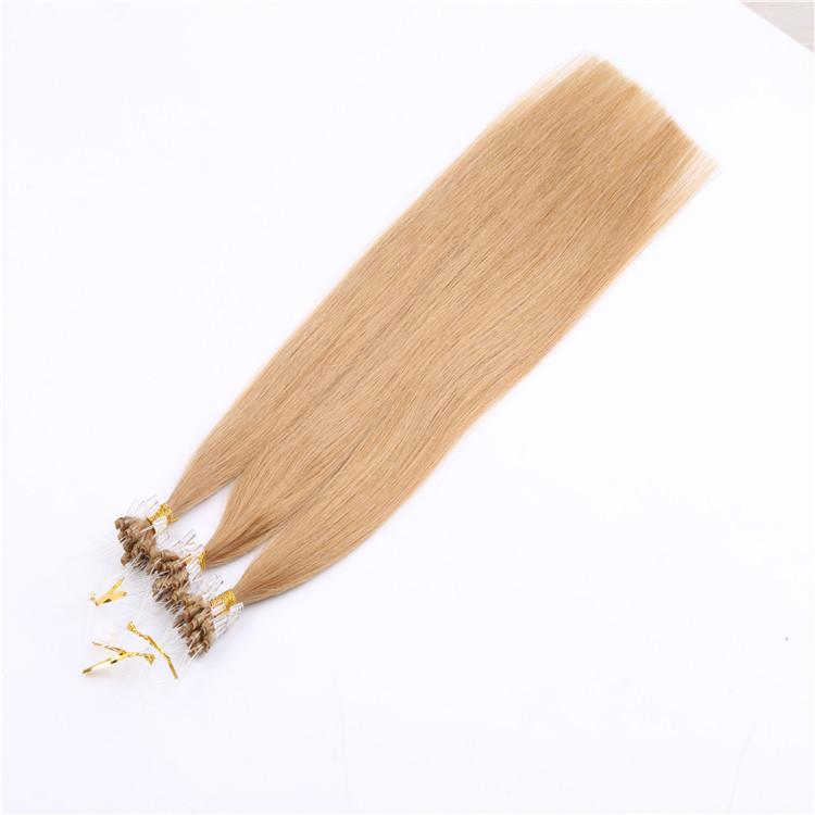 Cheap Micro Ring Loop Hair Extensions All Colors 100g Straight 18 24