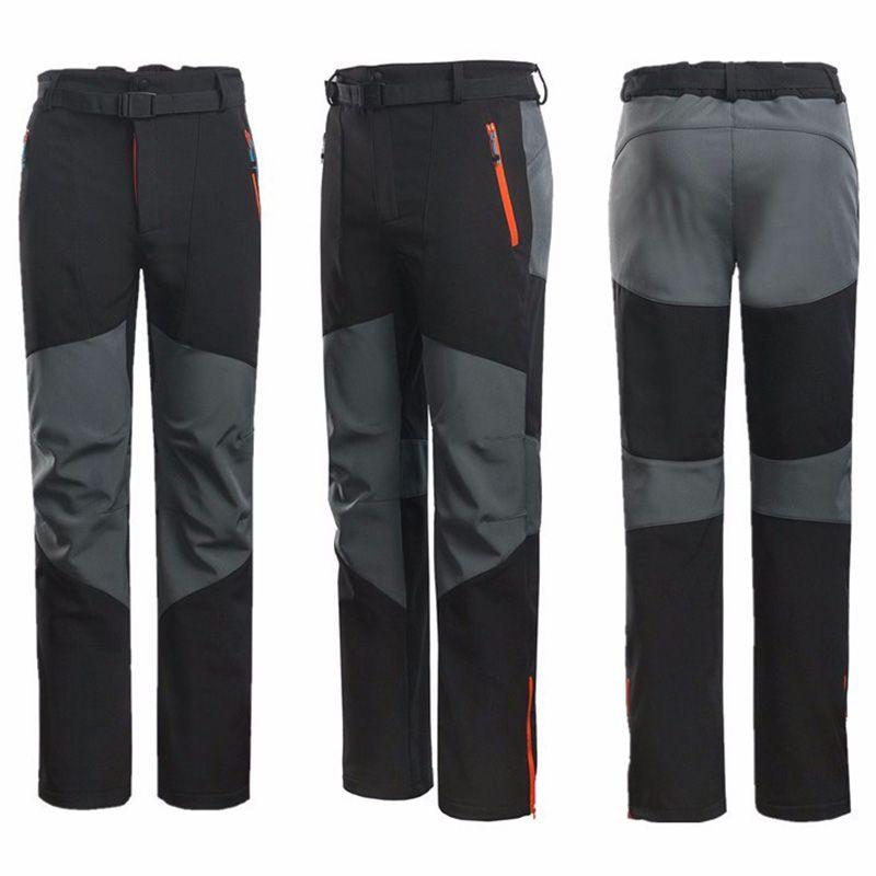 Mountainskin Wind Fleece Pants are mens hiking trousers