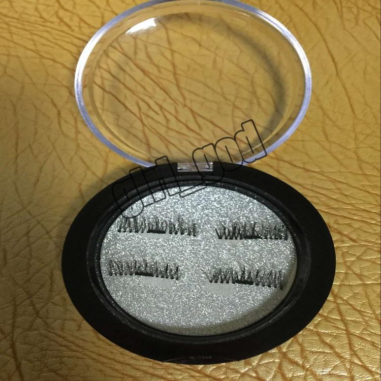 latest Magnetic Eye Lashes 3D False Magnet Eyelashes Extension 3D Fake Eyelashes magnetic eyelashes =with retail package