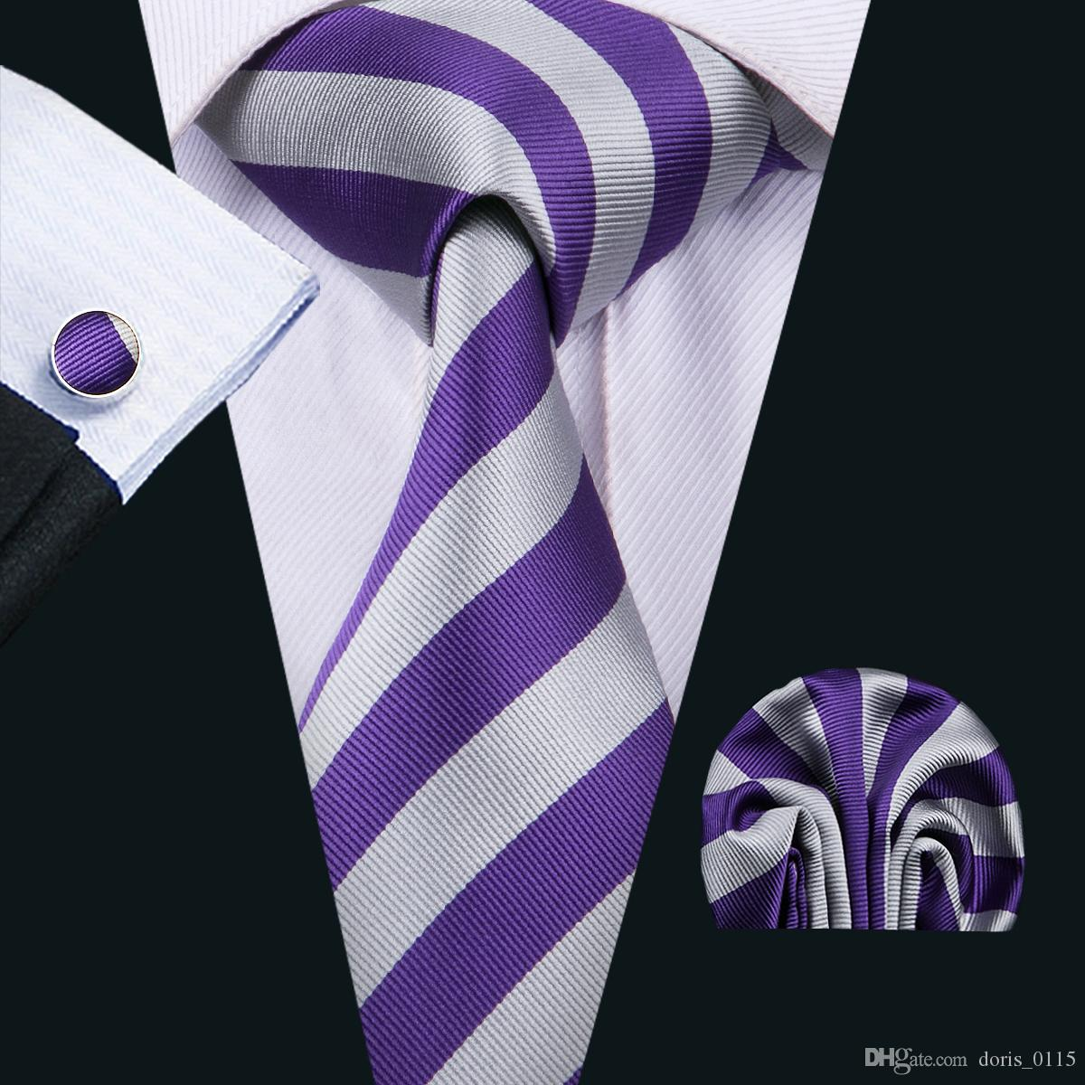 2018 clasic silk men ties purple tie sets strips mens neck tie tie 2018 clasic silk men ties purple tie sets strips mens neck tie tie hanky cufflinks sets jacquard woven meeting business wedding party n 1513 from doris0115 ccuart Image collections