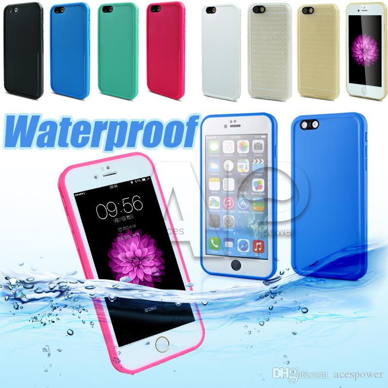 Waterproof TPU water Case For Iphone X 8 Samsung Galaxy S9 Plus Rubber Case Full Boday Cover Shock-proof Dust-proof Underwater Diving Cases
