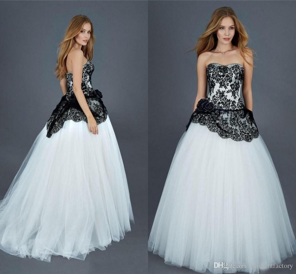 Stunning White Gothic Wedding Dress Photos - Styles & Ideas 2018 ...