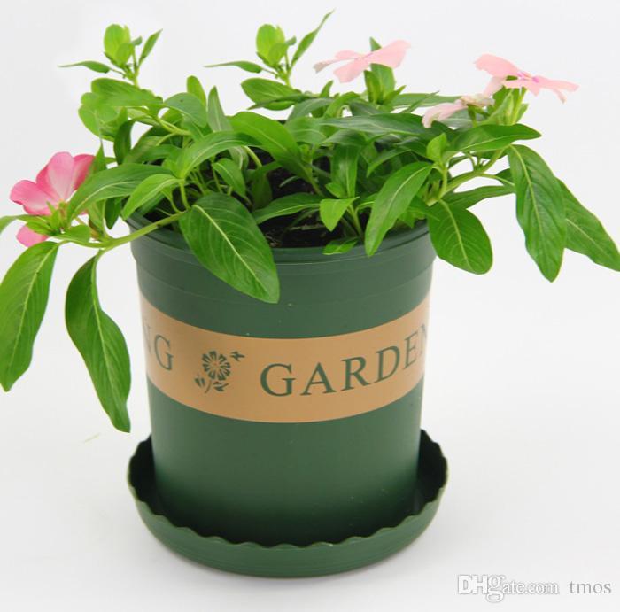 MOQ Injection Molded Grow Pot Plastic ,Round Duty Hard Planting pot 1/2/3/5 Gallon Flower Pots Planter