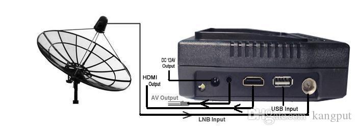 4.3 인치 고감도 및 고속 스캔 HD 인공위성 찾기 KPT958H