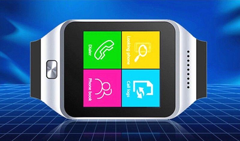 En Stock DZ09 Bluetooth Smart Watch Sync Carte SIM Téléphone Smart montre pour iPhone 6 Plus Samsung S6 Note 5 HTC Android IOS Téléphone VS U8 GV18 LX3