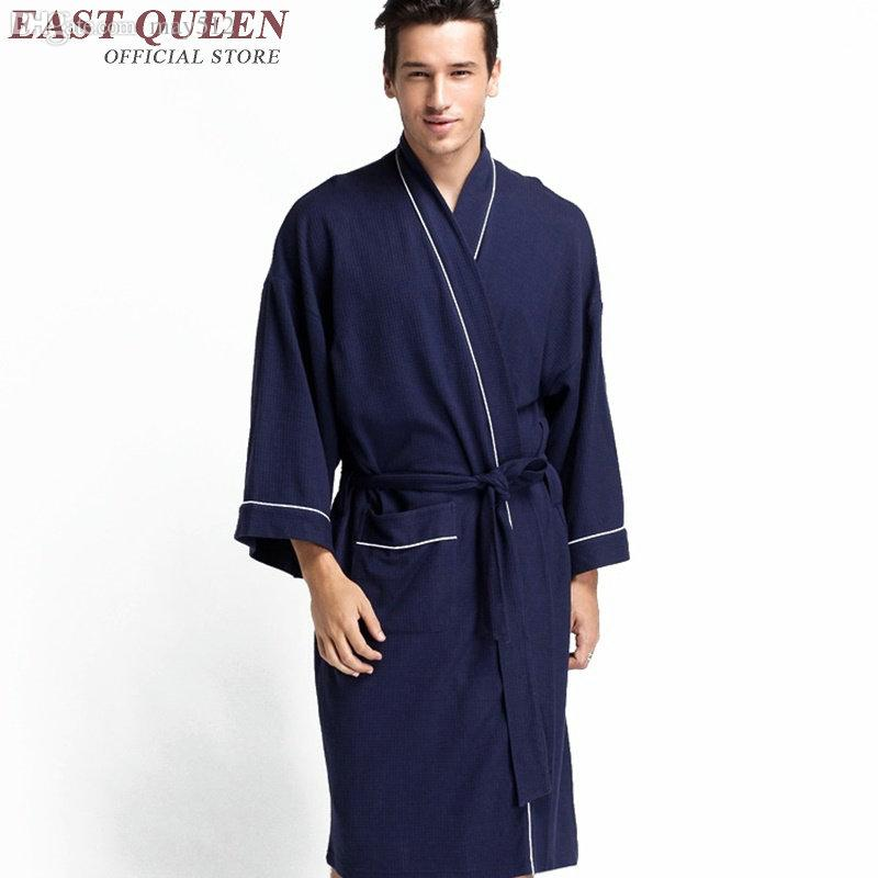 Wholesale-Men Gown Home Bathrobe Female 2016 New Arrival Male ... 3b3aed80f