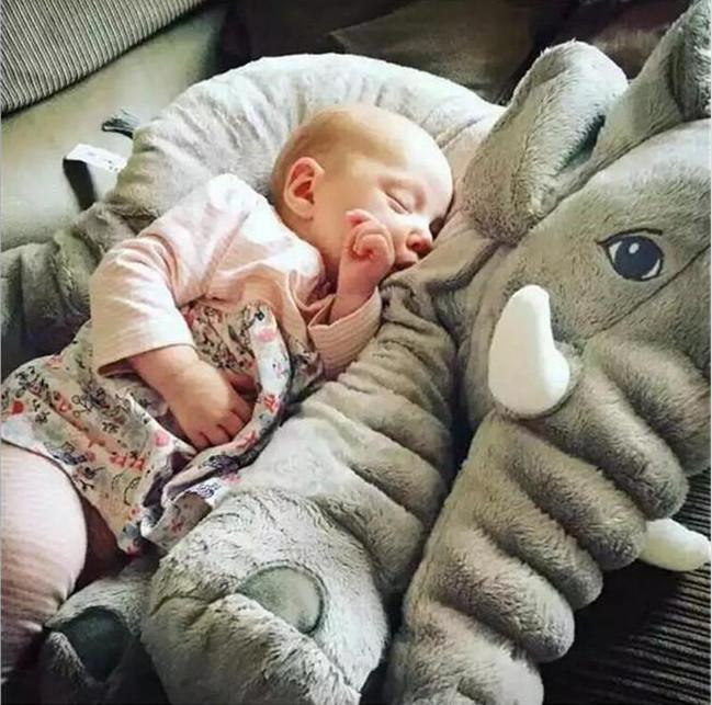 2019 Giant Plush Toys Giant Stuffed Animals Baby Elephant Pillow