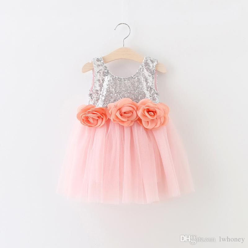 Compre Vestido De Princesa De Las Muchachas Para La Ropa De Los ...