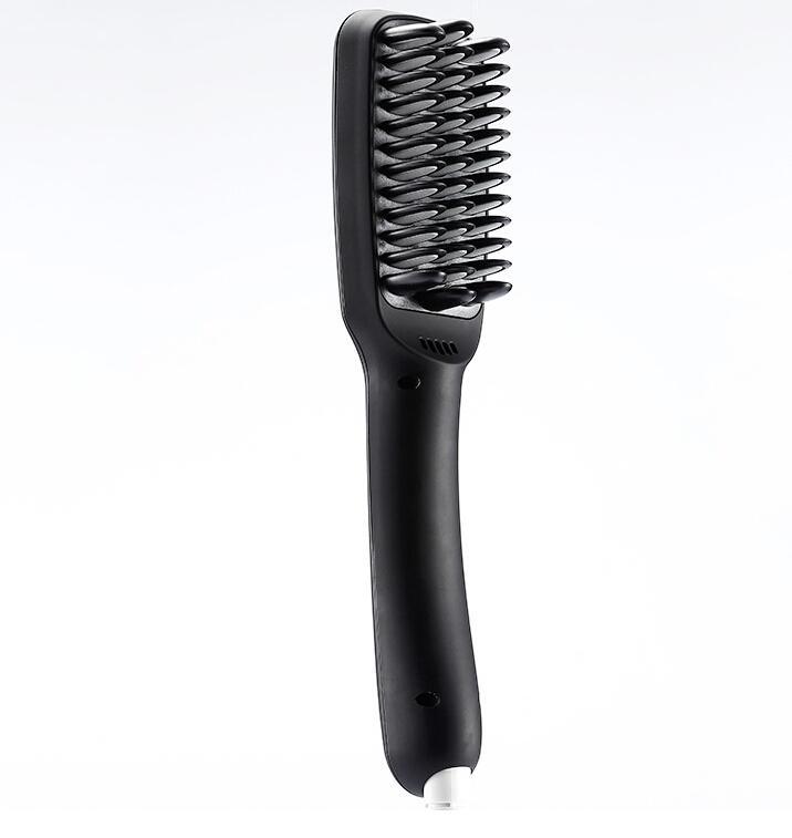 2 in 1 Ionic Hair Straightener Brush Professional Comb Electric PTC Heating Straight hair Brushes Straightening Brush