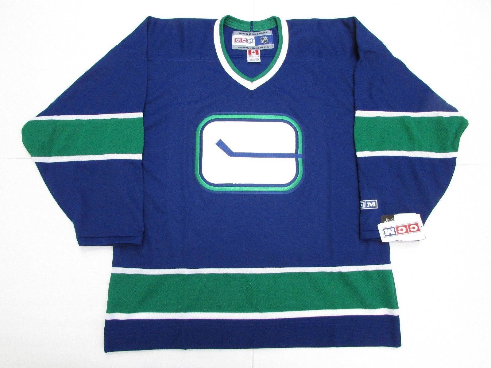 c164e34b4 ... cheap custom vancouver canucks hockey stick vintage ccm hockey jersey  made in canada mens throwback jerseys