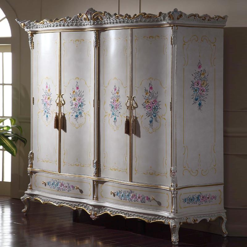 Luxury Royalty Villa Furniture Baroque Bed