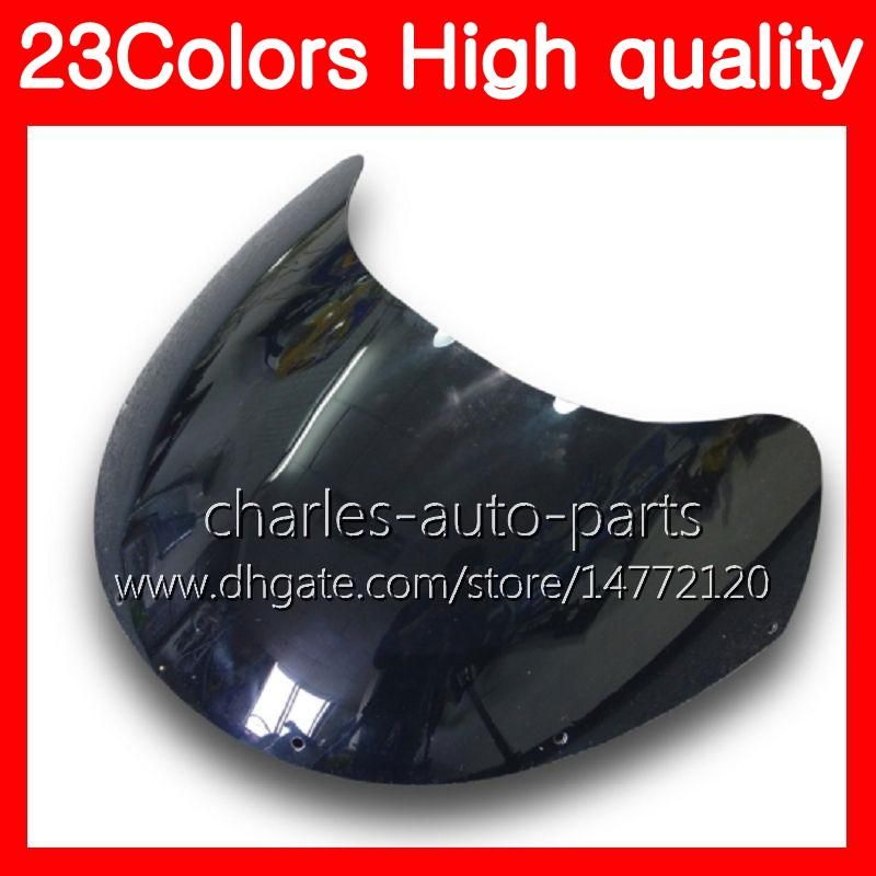100% nuovo parabrezza moto SUZUKI RGV-250 VJ23 RGV 250 97 98 RG V250 R GV250 RGV250 1997 1998 parabrezza trasparente nero cromato