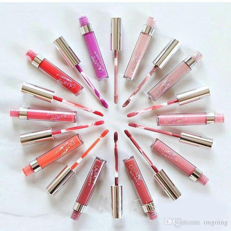 2016 New Colourpop Lip Gloss ULTRA MATTE LIQUID LIPSTICKS Various colors Long Lasting lips Colour pop